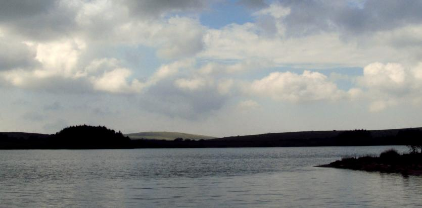 Siblyback lake, resevoir on Bodmin Moor