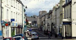 Callington High Street, site of Gelliwig?