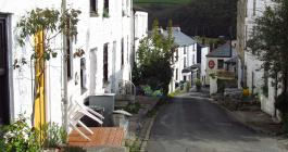 Calstock cottages