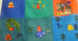 Story Quilt at Bude Museum