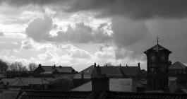 View over the rooftops of Liskeard
